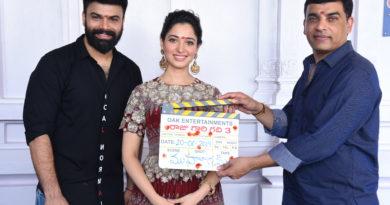 Tamannaah and Director Ohmkar's Raaju Gari Gadhi – 3 Launch