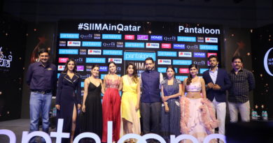 """Pantaloons SIIMA"" to host its 8th Edition in Qatar on 15th-16th August."